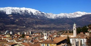Panorama di Rovereto
