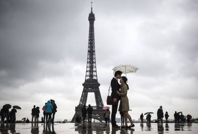 Week-end romantico a Parigi