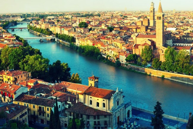 Week-end romantico a Verona