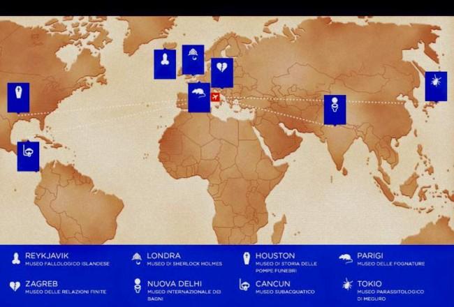 Infografica-Musei più curiosi del mondo