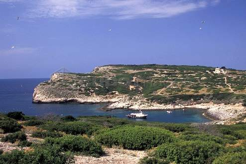 cala dei turchi isole tremiti